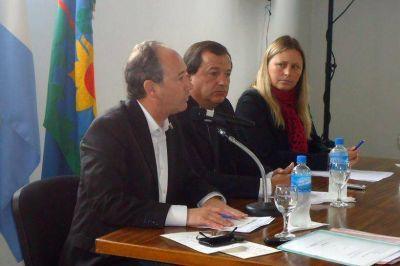 Monte Hermoso: El intendente repas� logros, objetivos y present� dos nuevos proyectos de viviendas