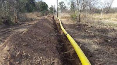 Realizarán la obra de extensión de la red de gas en Loma Negra