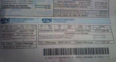 Tarifazo de la EPE: movilización de comerciantes