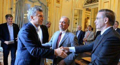 Romero y Urtubey con Macri