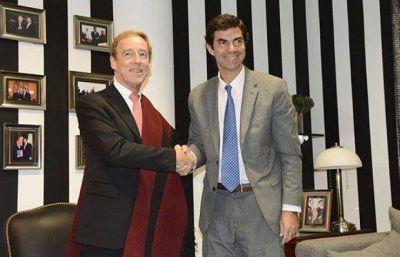 Urtubey y el embajador de Australia hablaron sobre nuevas inversiones