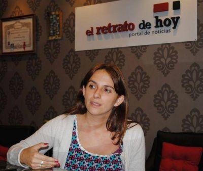 D�bora Marrero: �La situaci�n es preocupante, va a haber gente que va a trabajar los 30 d�as solamente para pagar el gas�