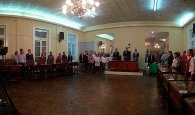 Opiniones de los concejales tras el discurso de Luciani