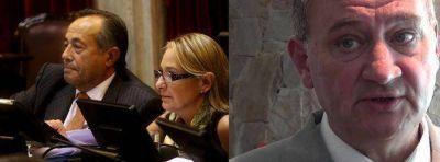 Listado de comisiones de los 3 senadores por San Luis