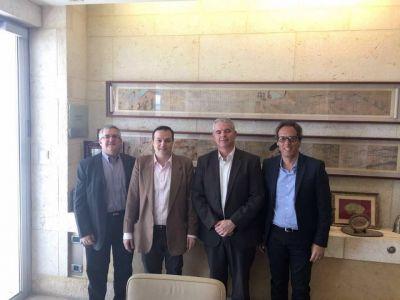 El presidente de la DAIA fue recibido en la cancillería israelí en Jerusalem