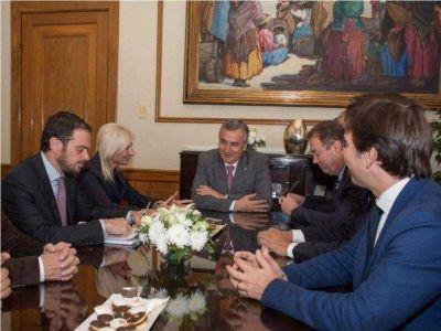 Morales recibió a la Embajadora de Italia