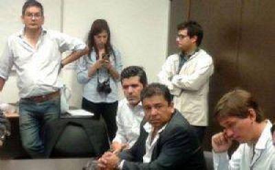 Domínguez Yelpo junto a Ritondo y Mahiques