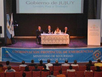 SE CONCRET� LA PRIMERA JORNADA PROVINCIAL DE EMERGENCIAS Y CONTINGENCIAS
