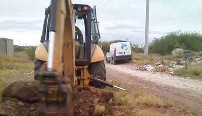 Aguas de Catamarca lleva adelante trabajos en el Barrio Vial