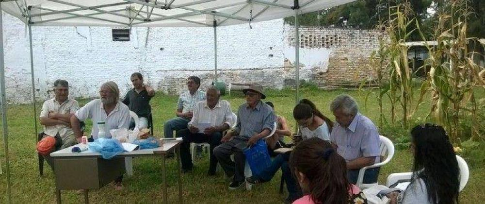 La Mesa de Tierras analizó conflictos de tierras y proyectos de inversión para agricultores familiares