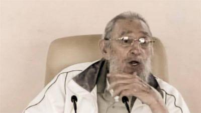 Fidel Castro reapareci� en un acto p�blico despu�s de nueve meses