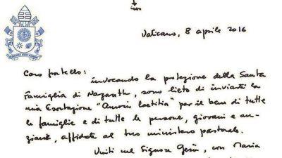 «Amoris laetitia», una nueva «constitución» para las familias