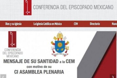 Francisco envía un mensaje a los obispos de México