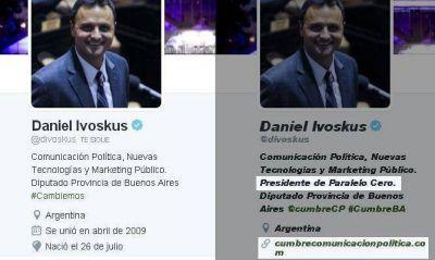 """Tras el escándalo, el diputado Ivoskus borra sus huellas de """"Paralelo Cero"""""""