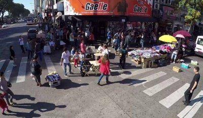 Ciudad: Volvió a aumentar la venta ilegal