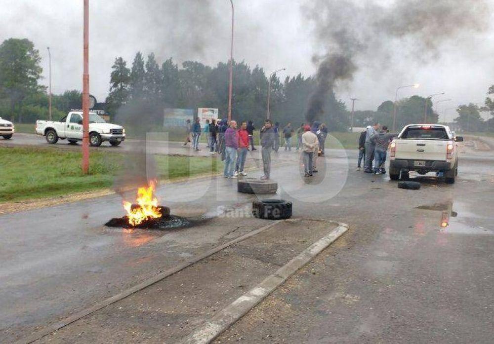 Los municipales harán un paro el miércoles por el conflicto en Las Rosas