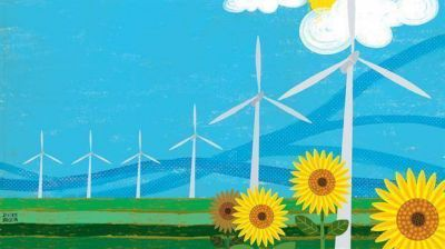 Energías verdes: el viento se puso de moda y el negocio de los recursos renovables atrae cada vez a más inversores