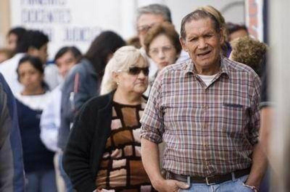 Aumento para más de 40.000 jubilados