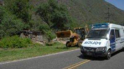 Pretenden regularizar las construcciones camino a El Rodeo
