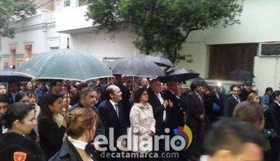 La Gobernadora presente en la procesión de la Virgen del Valle
