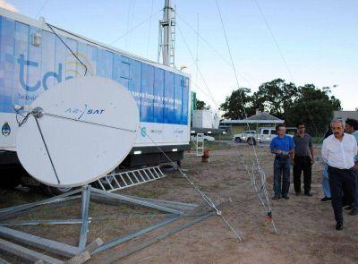 Arsat intimó a la provincia a culminar línea energética