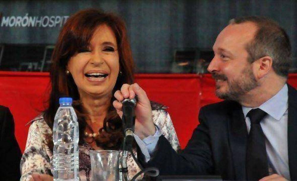 """Sabbatella, arriesgado: """"Pongo el cuerpo entero en el fuego por CFK"""""""