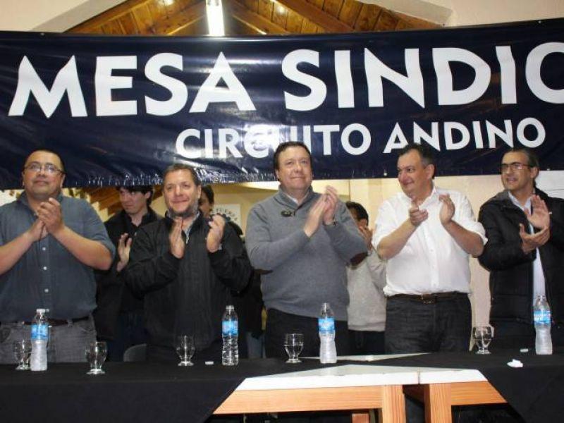 Mesa Sindical eligió autoridades y ratificó su pertenencia al partido del gobernador