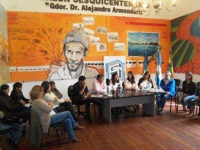 La Directora Del Organismo Provincial de Niñez y Adolescencia y funcionarios del área estuvieron en Saladillo
