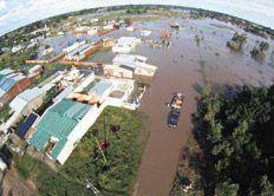 El agua sigue camino a la emergencia