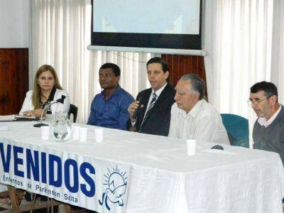 El IPS reafirmó su compromiso institucional con enfermos de Parkinson