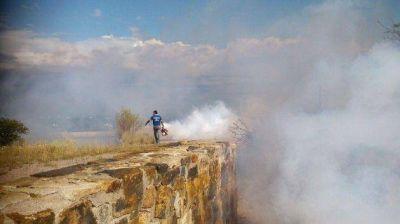 Continúan las fumigaciones preventivas en San Luis