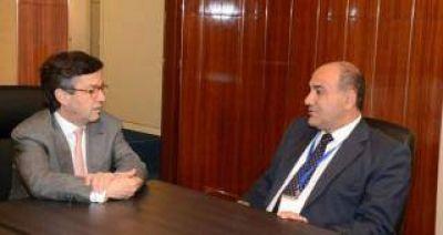 Manzur se reuni� con el Presidente del BID para gestionar inversiones en infraestructura