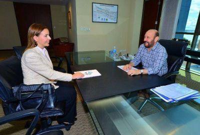 """Insfrán se reunió con gerente regional de VN y destacan la """"transformación vial"""" de la provincia"""