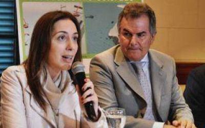 Bahía Blanca: Vidal anunció obras por 6.000 millones de pesos