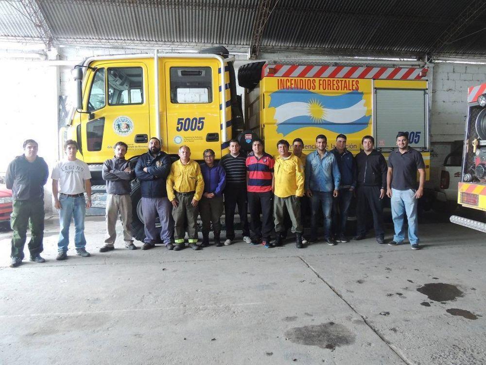 Reciben a representantes del Plan Nacional del Manejo del Fuego