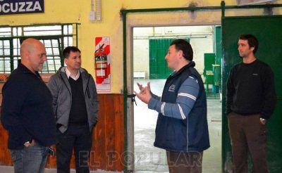 El Subsecretario de Deportes hizo una recorrida en Olavarría