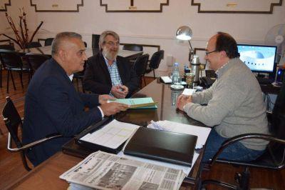 Salomón se reunió con Inspectores de Educación