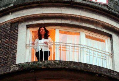 Cristina Kirchner visitó a su hija y se reunió con el exjuez de la Corte Zaffaroni