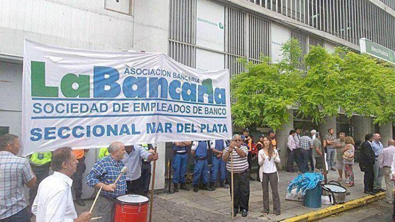 Por un paro nacional, ma�ana no trabajar�n los bancos