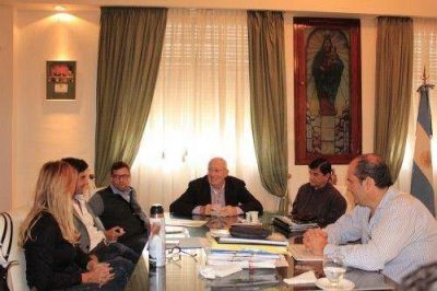 Olivera se reunió con el ministro Cenzón