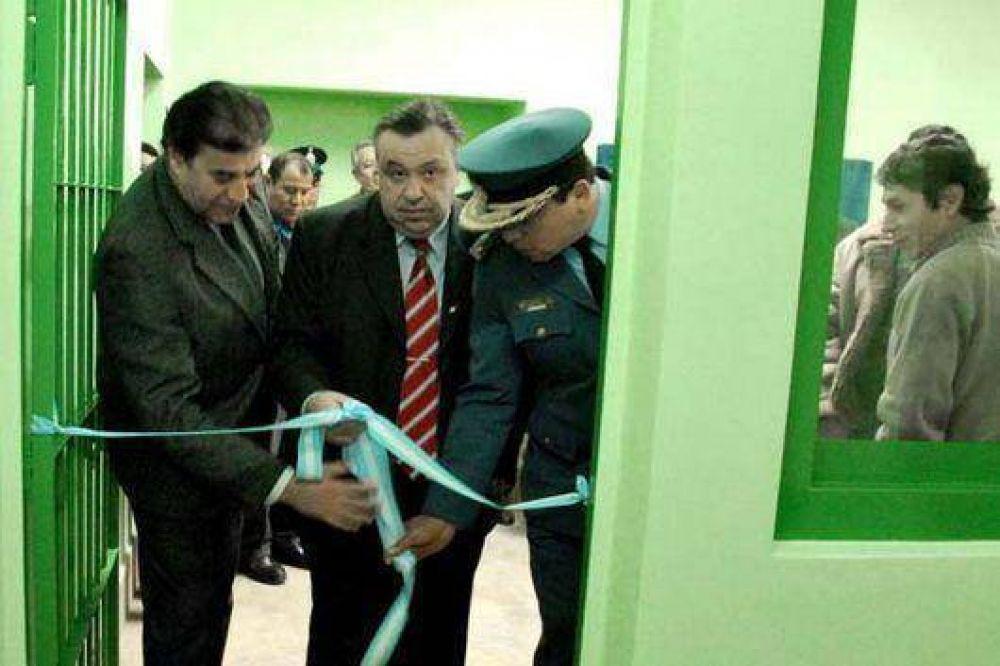 Inauguraron pabellon de alta seguridad en cárcel jujeña