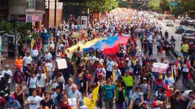 Venezuela: oposici�n convoc� una marcha para exigir la salida de Nicol�s Maduro