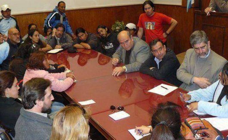 Organizaciones sociales llevaron reclamos a los legisladores
