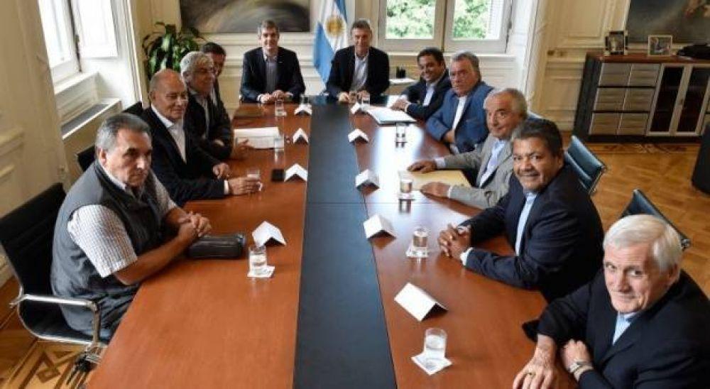 Las tres CGT serán recibidas por el Presidente Macri en la quinta de Olivos