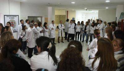 Profundizar�n las protestas en hospitales provinciales