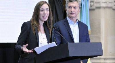 Macri y Vidal anunciaron obras hídricas para Roque Pérez y Ruta Nacional 205