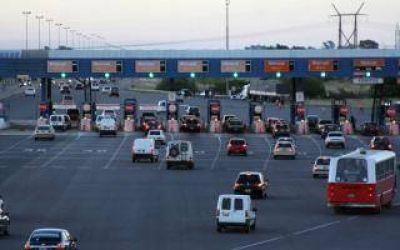 Autopista Buenos Aires - La Plata: El peaje ya se puede pagar con SUBE