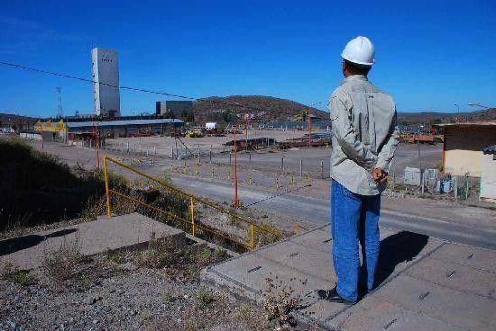 La minera extiende la parálisis en Sierra Grande