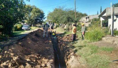 Aguas de Catamarca continúa ampliando la red de agua potable