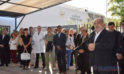 El Gobernador inauguró obras por más de 6 millones en el área de Salud y anunció la compra de 50 ambulancias